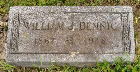 DENNIG, WILLIAM J. - Crawford County, Ohio | WILLIAM J. DENNIG - Ohio Gravestone Photos