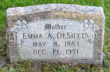 DESILETS, EMMA A. - Crawford County, Ohio | EMMA A. DESILETS - Ohio Gravestone Photos