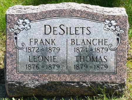 DESILETS, FRANK - Crawford County, Ohio | FRANK DESILETS - Ohio Gravestone Photos