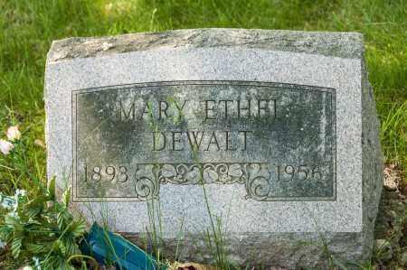 DEWALT, MARY ETHEL - Crawford County, Ohio | MARY ETHEL DEWALT - Ohio Gravestone Photos
