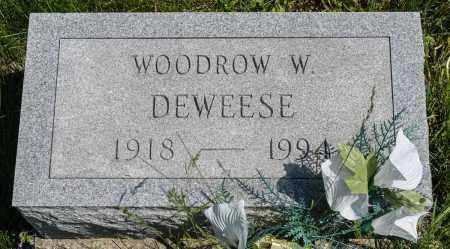 DEWEESE, WOODROW W. - Crawford County, Ohio | WOODROW W. DEWEESE - Ohio Gravestone Photos