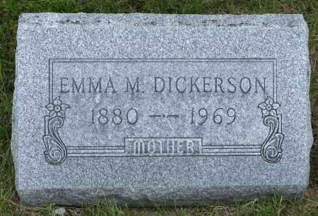 SEITZ DICKERSON, EMMA MARIE - Crawford County, Ohio | EMMA MARIE SEITZ DICKERSON - Ohio Gravestone Photos