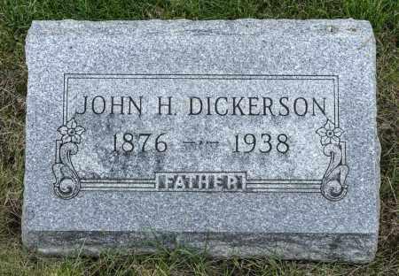 DICKERSON, JOHN HARVEY - Crawford County, Ohio | JOHN HARVEY DICKERSON - Ohio Gravestone Photos
