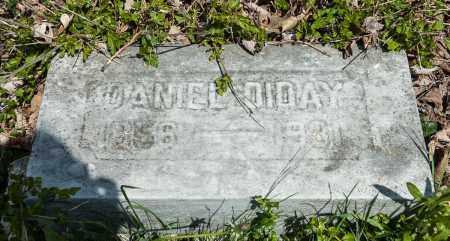 DIDAY, DANIEL - Crawford County, Ohio | DANIEL DIDAY - Ohio Gravestone Photos