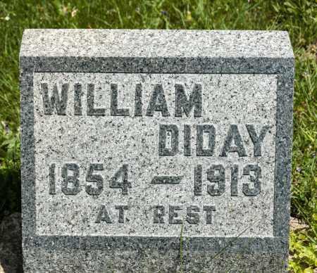 DIDAY, WILLIAM - Crawford County, Ohio | WILLIAM DIDAY - Ohio Gravestone Photos