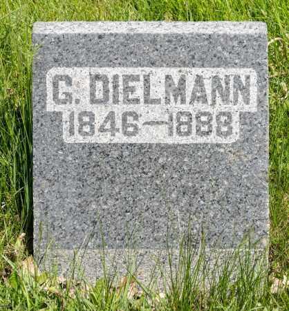 DIELMANN, GEORGE - Crawford County, Ohio | GEORGE DIELMANN - Ohio Gravestone Photos