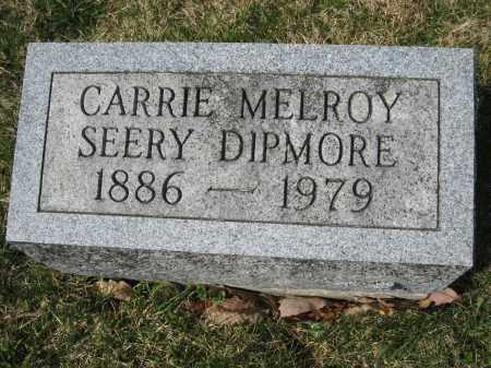 DIPMORE, CARRIE - Crawford County, Ohio | CARRIE DIPMORE - Ohio Gravestone Photos