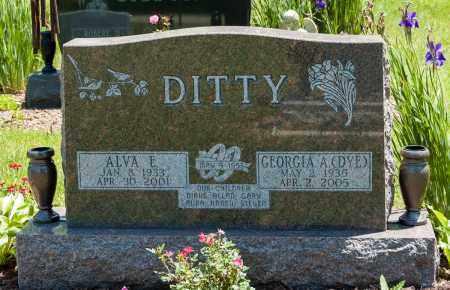 DYE DITTY, GEORGIA A. - Crawford County, Ohio | GEORGIA A. DYE DITTY - Ohio Gravestone Photos