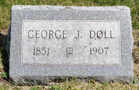 DOLL, GEORGE J. - Crawford County, Ohio | GEORGE J. DOLL - Ohio Gravestone Photos