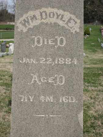 DOYLE, WM - Crawford County, Ohio   WM DOYLE - Ohio Gravestone Photos
