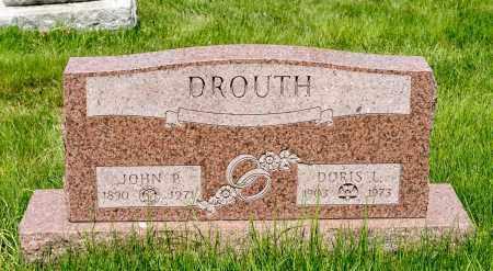 DROUTH, DORIS L. - Crawford County, Ohio | DORIS L. DROUTH - Ohio Gravestone Photos