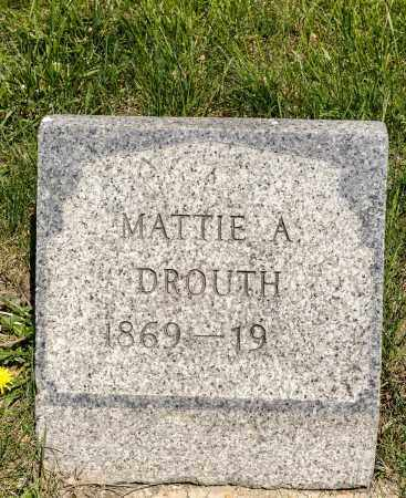 MEYERS DROUTH, MATTIE A. - Crawford County, Ohio | MATTIE A. MEYERS DROUTH - Ohio Gravestone Photos