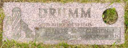 FOGLE DRUMM, FRANCES M. - Crawford County, Ohio | FRANCES M. FOGLE DRUMM - Ohio Gravestone Photos