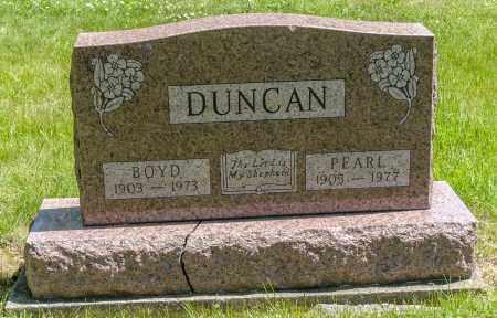 DUNCAN, BOYD - Crawford County, Ohio | BOYD DUNCAN - Ohio Gravestone Photos