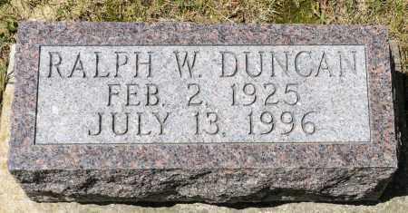 DUNCAN, RALPH W. - Crawford County, Ohio   RALPH W. DUNCAN - Ohio Gravestone Photos