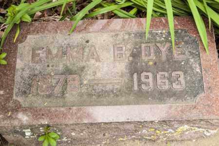 DYE, EMMA B. - Crawford County, Ohio   EMMA B. DYE - Ohio Gravestone Photos