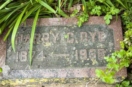 DYE, HARRY C. - Crawford County, Ohio | HARRY C. DYE - Ohio Gravestone Photos