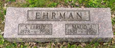 HERR EHRMAN, MAUD JEANETTE - Crawford County, Ohio | MAUD JEANETTE HERR EHRMAN - Ohio Gravestone Photos