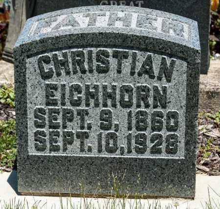 EICHHORN, CHRISTIAN - Crawford County, Ohio   CHRISTIAN EICHHORN - Ohio Gravestone Photos