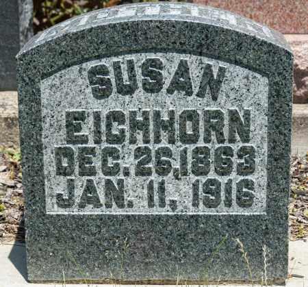 EICHLER EICHHORN, SUSAN - Crawford County, Ohio | SUSAN EICHLER EICHHORN - Ohio Gravestone Photos
