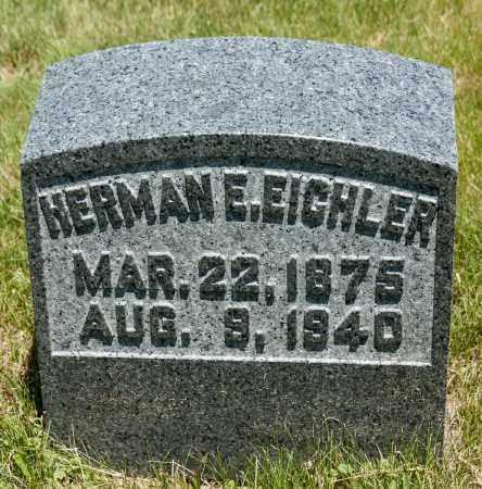 EICHLER, HERMAN E. - Crawford County, Ohio | HERMAN E. EICHLER - Ohio Gravestone Photos