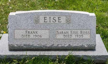 EISE, FRANK - Crawford County, Ohio | FRANK EISE - Ohio Gravestone Photos