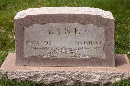 EISE, CHRISTIAN FREDERICK - Crawford County, Ohio | CHRISTIAN FREDERICK EISE - Ohio Gravestone Photos