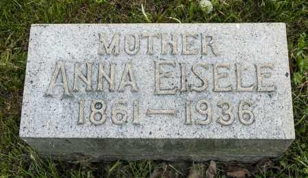 EISELE, ANNA - Crawford County, Ohio | ANNA EISELE - Ohio Gravestone Photos