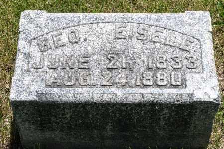 EISELE, GEORGE - Crawford County, Ohio | GEORGE EISELE - Ohio Gravestone Photos
