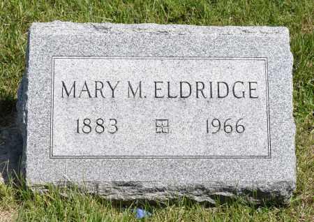 ELDRIDGE, MARY M. - Crawford County, Ohio   MARY M. ELDRIDGE - Ohio Gravestone Photos