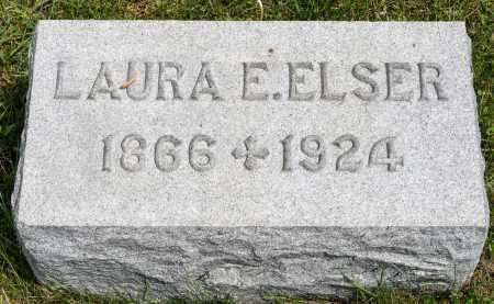 ELSER, LAURA E. - Crawford County, Ohio | LAURA E. ELSER - Ohio Gravestone Photos