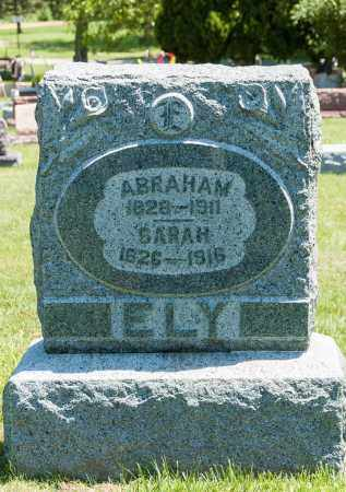 ELY, ABRAHAM - Crawford County, Ohio | ABRAHAM ELY - Ohio Gravestone Photos