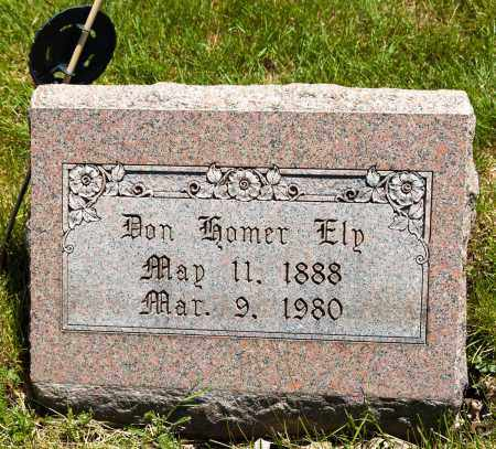 ELY, DON HOMER - Crawford County, Ohio   DON HOMER ELY - Ohio Gravestone Photos