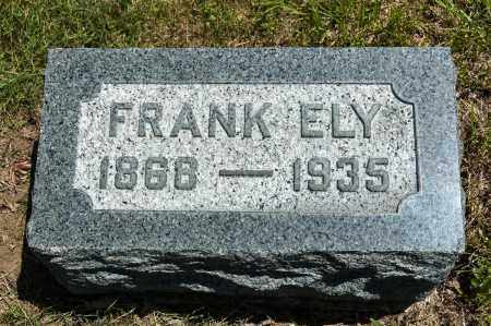 ELY, FRANK - Crawford County, Ohio | FRANK ELY - Ohio Gravestone Photos