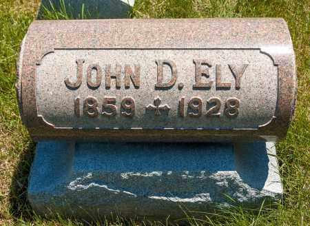 ELY, JOHN D. - Crawford County, Ohio | JOHN D. ELY - Ohio Gravestone Photos