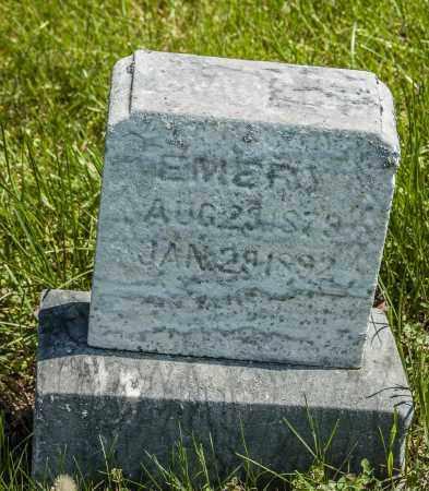 EMERY, GRACE - Crawford County, Ohio | GRACE EMERY - Ohio Gravestone Photos
