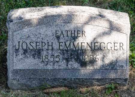 EMMENEGGER, JOSEPH - Crawford County, Ohio | JOSEPH EMMENEGGER - Ohio Gravestone Photos