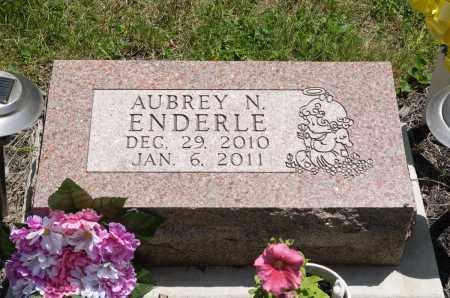 ENDERLE, AUBREY N. - Crawford County, Ohio   AUBREY N. ENDERLE - Ohio Gravestone Photos