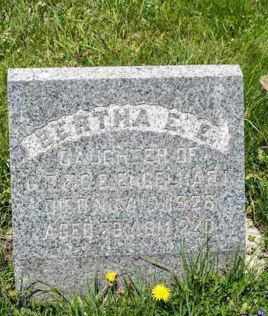 ENGELHART, BERTHA  E. E. - Crawford County, Ohio   BERTHA  E. E. ENGELHART - Ohio Gravestone Photos