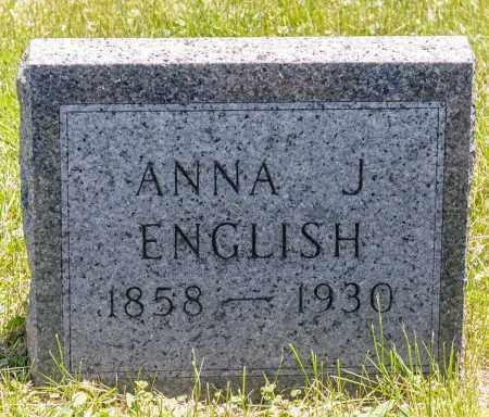 NEWHOUSE ENGLISH, ANNA J. - Crawford County, Ohio | ANNA J. NEWHOUSE ENGLISH - Ohio Gravestone Photos