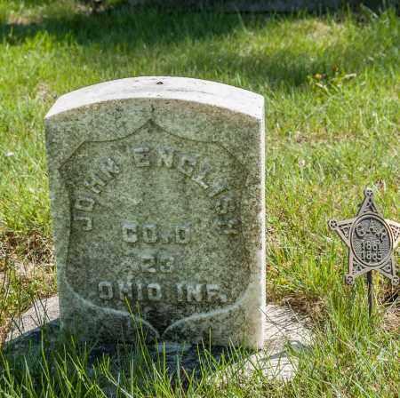 ENGLISH, JOHN - Crawford County, Ohio | JOHN ENGLISH - Ohio Gravestone Photos