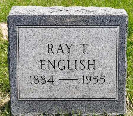 ENGLISH, RAY TECUMSEH - Crawford County, Ohio | RAY TECUMSEH ENGLISH - Ohio Gravestone Photos