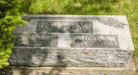 EPLEY, LLOYD RICHARD - Crawford County, Ohio | LLOYD RICHARD EPLEY - Ohio Gravestone Photos