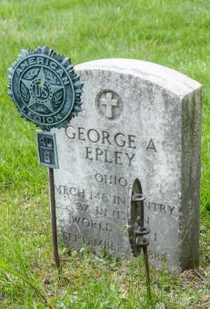 EPLEY, GEORGE A. - Crawford County, Ohio | GEORGE A. EPLEY - Ohio Gravestone Photos