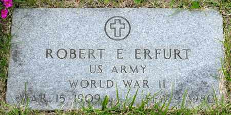 ERFURT, ROBERT E. - Crawford County, Ohio | ROBERT E. ERFURT - Ohio Gravestone Photos