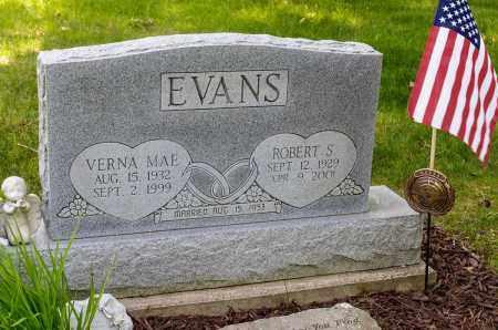 FISHER EVANS, VERNA MAE - Crawford County, Ohio | VERNA MAE FISHER EVANS - Ohio Gravestone Photos