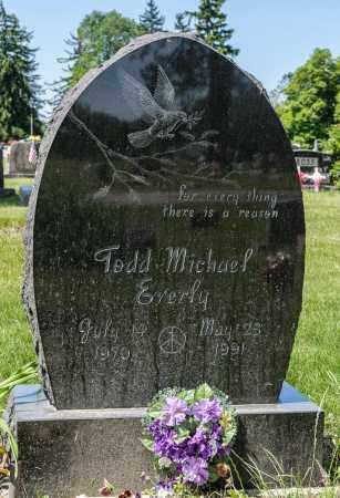 EVERLY, TODD MICHAEL - Crawford County, Ohio | TODD MICHAEL EVERLY - Ohio Gravestone Photos