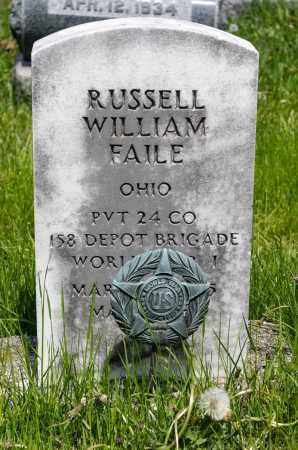 FAILE, RUSSELL WILLIAM - Crawford County, Ohio | RUSSELL WILLIAM FAILE - Ohio Gravestone Photos