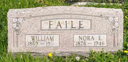 BECK FAILE, NORA E. - Crawford County, Ohio | NORA E. BECK FAILE - Ohio Gravestone Photos