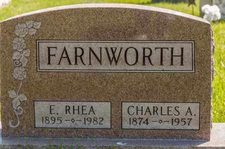 FARNWORTH, ELLA RHEA - Crawford County, Ohio | ELLA RHEA FARNWORTH - Ohio Gravestone Photos